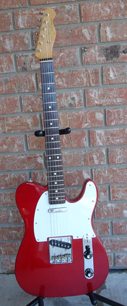 Muddy Waters Telecaster Candy Apple Red by Sarge in Sarge's Gear Collection