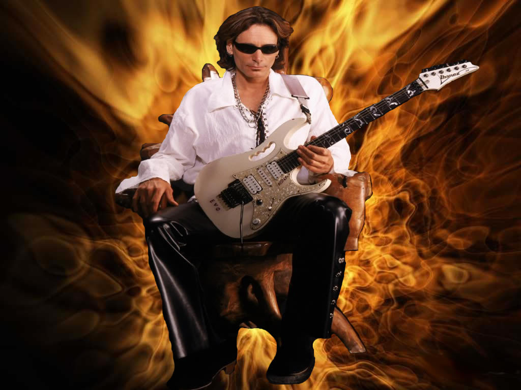 Steve Vai - Wallpaper Gallery