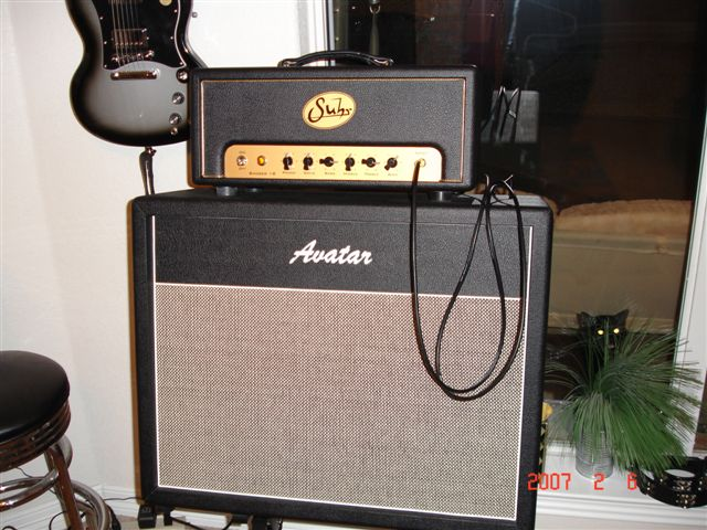 Suhr Badger With Avatar Cabinet by Sarge in Sarge's Gear Collection