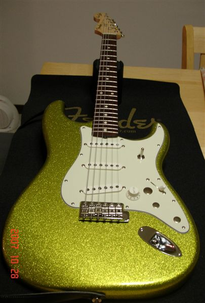Fender Custom Shop Dick Dale Stratocaster by Sarge in Sarge's Gear Collection