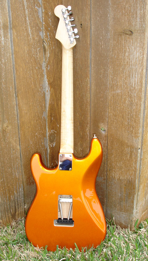 Warmoth Candy Tangerine Hss Strat by Sarge in Sarge's Gear Collection