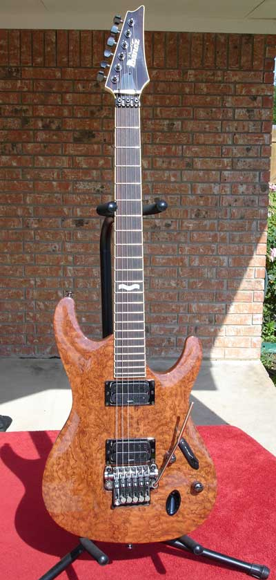Ibanez Pointy Guitar by Sarge in Sarge's Gear Collection