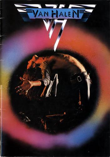 Top Cover by Cato in VAN HALEN 1978 TOUR BOOK