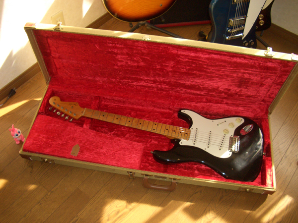 Fender Custom Shop '56 Strat Relic by Cato in Cato's unbelievably great gear collection