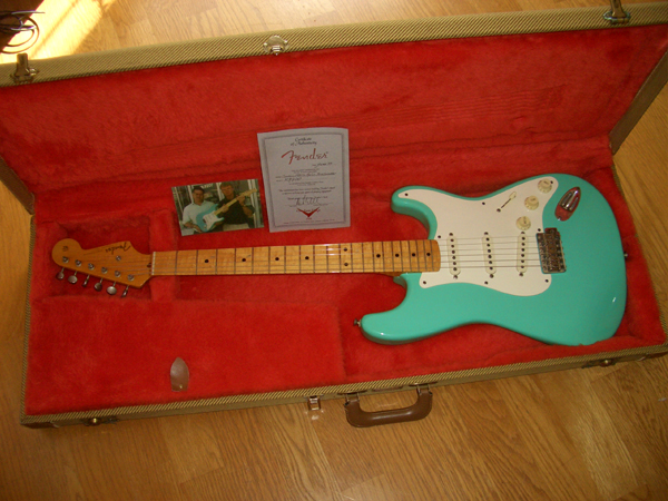 Fender Custom Shop '54 Strat Ordered By NRG ~SOLD!~ by Cato in Cato's unbelievably great gear collection