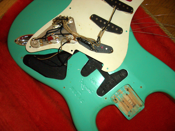 Fender Custom Shop '54 Strat Ordered By Nrg by Cato in Cato's unbelievably great gear collection