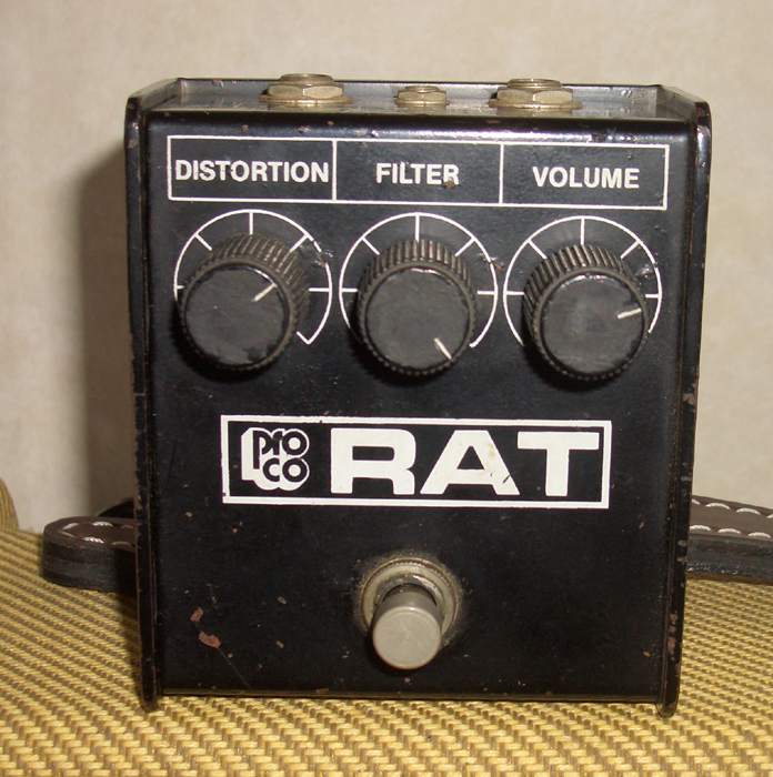 Proco THE RAT (1986) ~SOLD!~ by Cato in Cato's unbelievably great gear collection