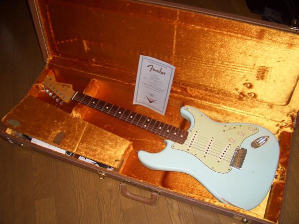 Fender Custom Shop TBC 1960 Strat(2007)