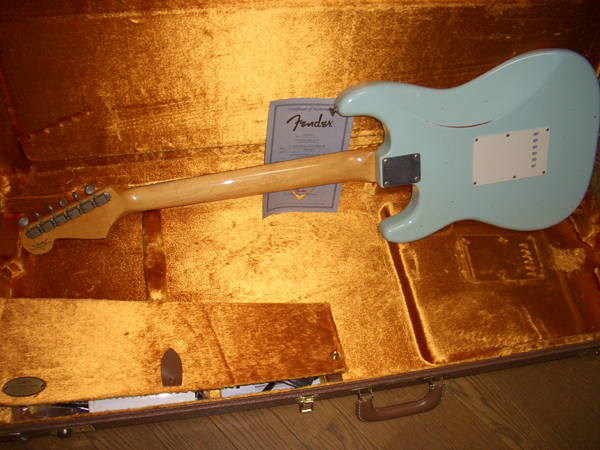 Fender Custom Shop TBC 1960 Strat(2007) by Cato in Cato's unbelievably great gear collection