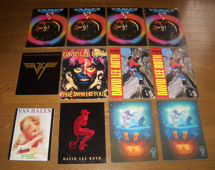 Cato's VH/DLR Tourbook Collection by Cato in Forum Member Picture Uploads