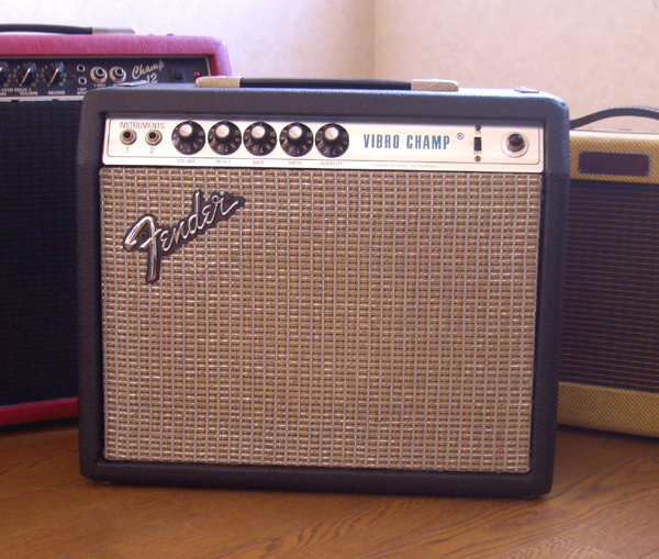 Fender Vibro Champ (1977) by Cato in Cato's unbelievably great gear collection
