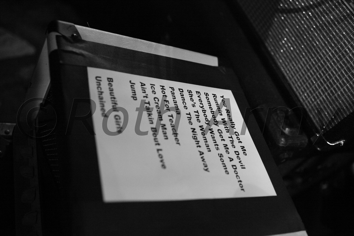 The Setlist... by POJO_Risin in Cafe Wha? Exclusive!