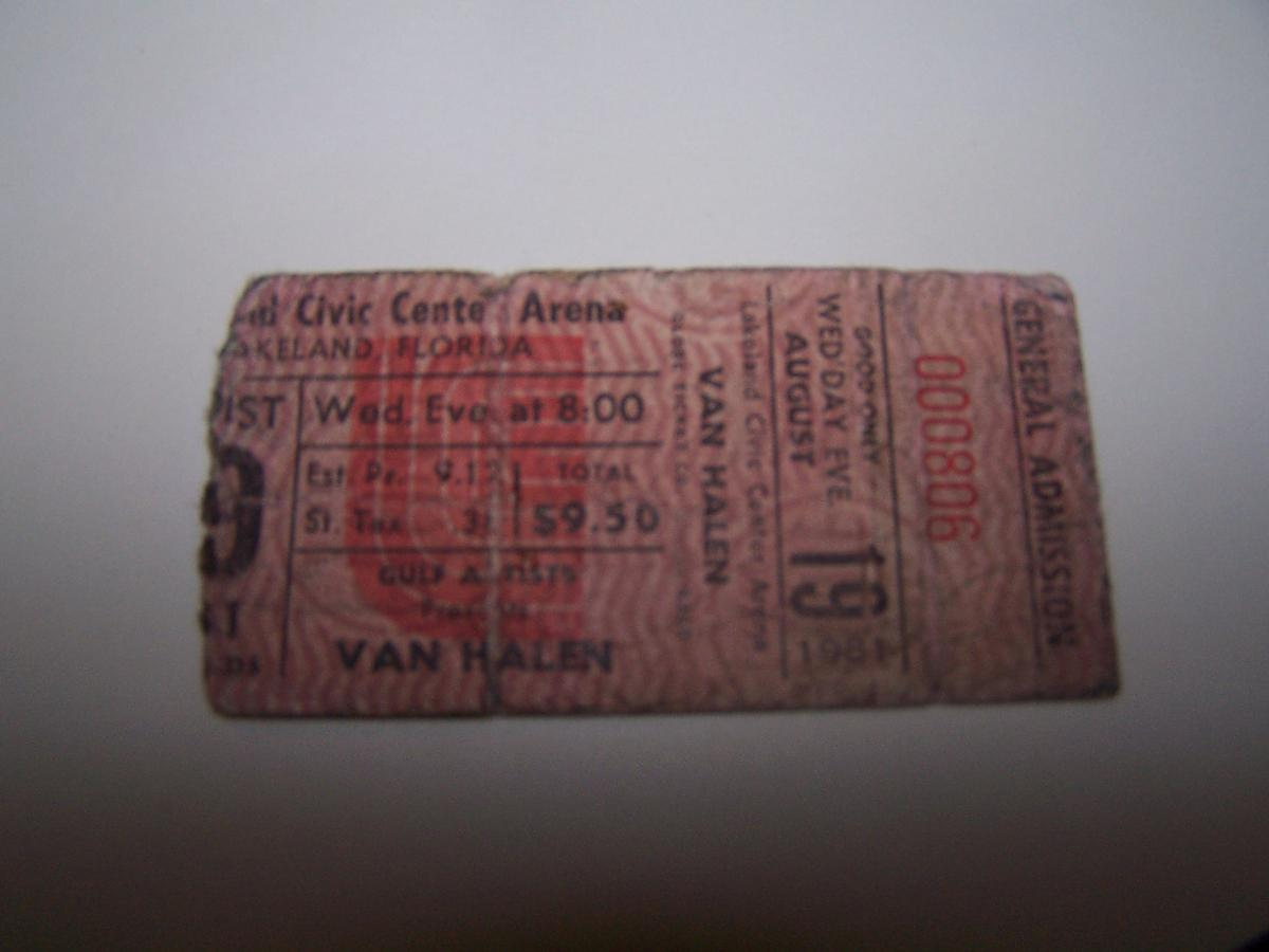 First Van Halen Show! by fwacf in Classic Van Halen