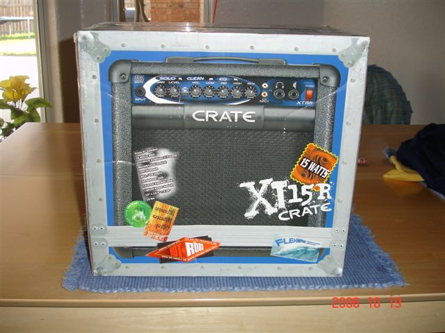crate xt15r 15w guitar combo amp as new harmony central. Black Bedroom Furniture Sets. Home Design Ideas